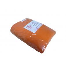 Одеяло-плед флис на кушетку 1.45-2м оранжевый