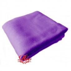 Одеяло-плед флис на кушетку 1.6-2м фиолетовое